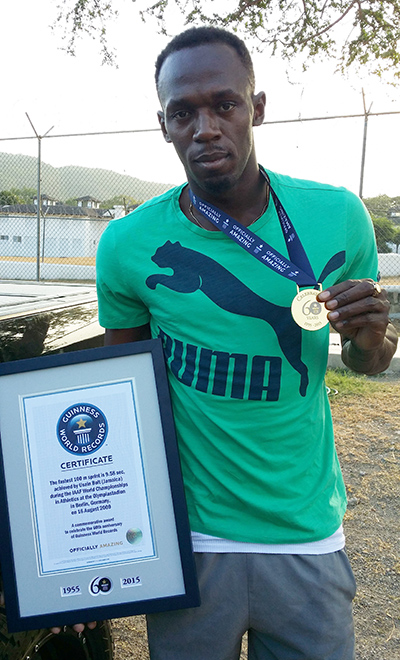 Usain Bolt winner of 8 Olympic medals is the fastest man ...