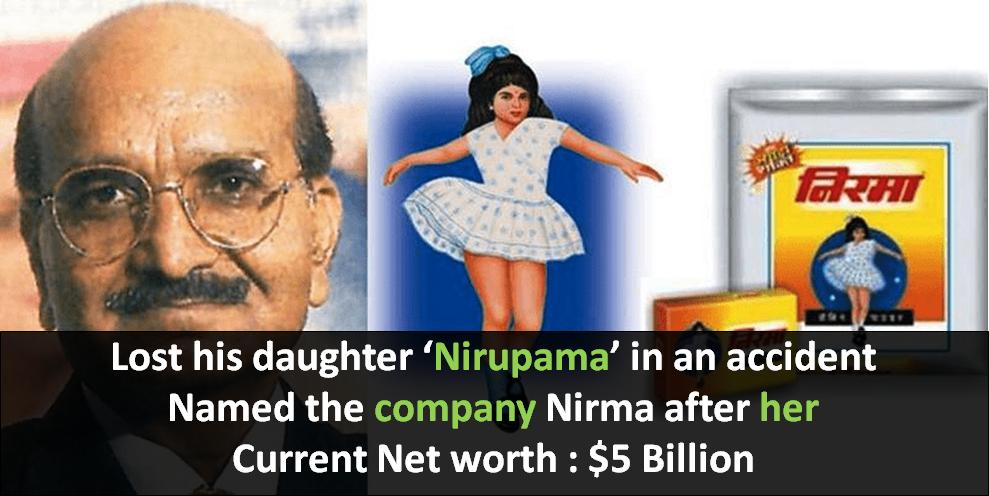Nirma Story Nirma Founder