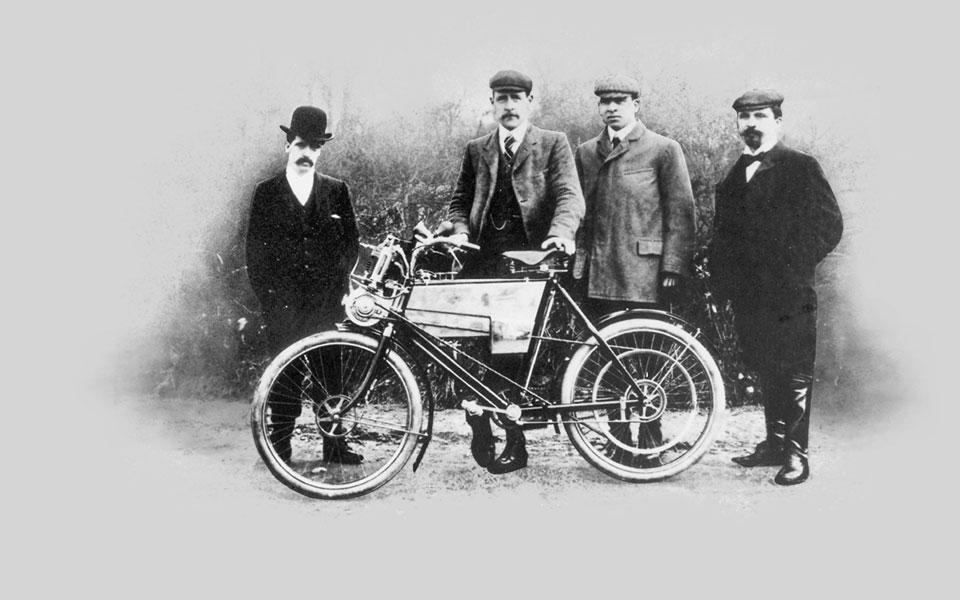 First Royal Enfield Bike
