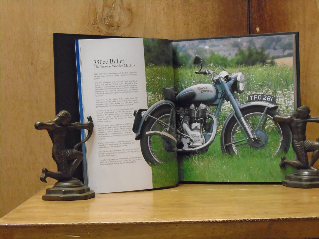 Royal Enfield book on 50 years celebration